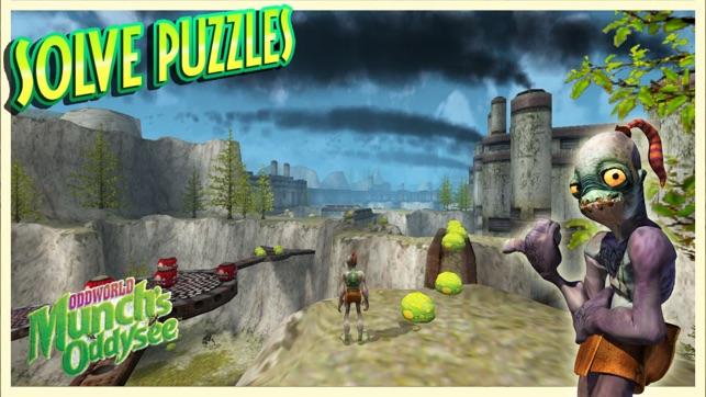 Oddworld: Munch's Oddysee Screenshot