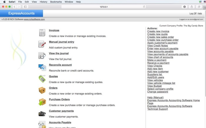 Express Accounts Plus Screenshot 05 1377vvn