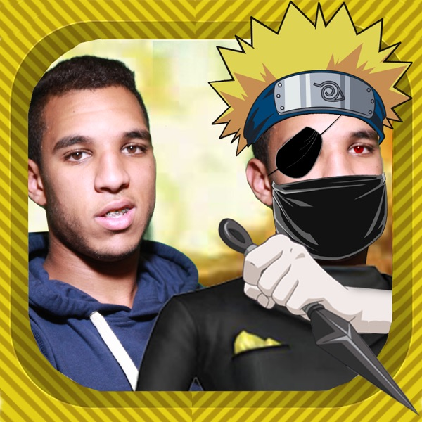 Ninja Naruto Face Maker Camera Sticker HD -  Manga & Anime Shippuden