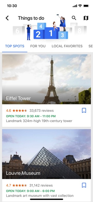 Google Trips – Plan Your Trip Screenshot
