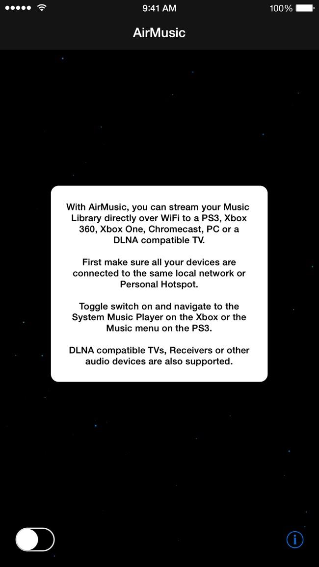 AirMusic Screenshot