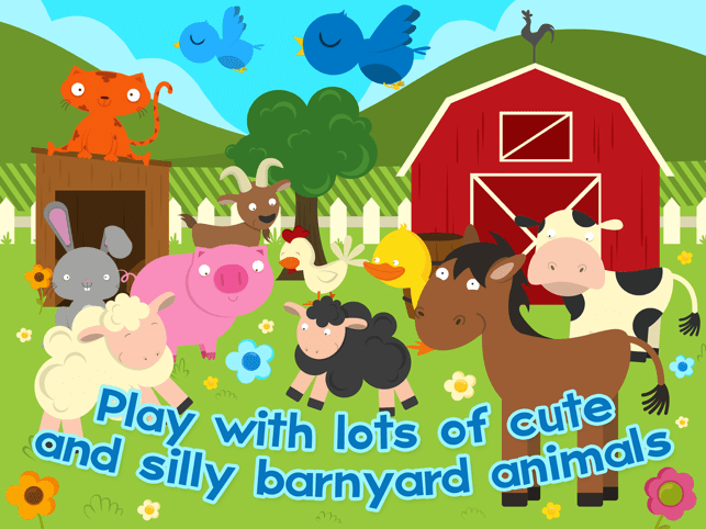 Farm Games Animal Games for Kids Puzzles for Kids Screenshot