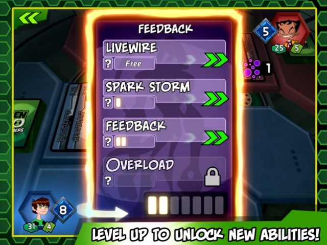 Ben 10 Slammers – Galactic Alien Collectible Card Battle Game Screenshot