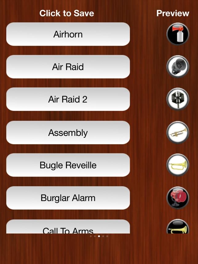 Horn und Sirene Ringtones Screenshot