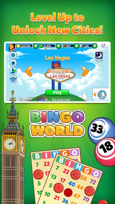 Bingo World HD - Bingo and Slots Game 2.13.0 IOS