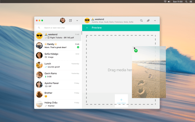 ‎WhatsApp Desktop Screenshot