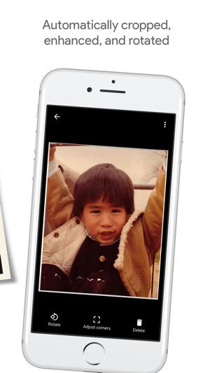 PhotoScan by Google Photos Screenshot