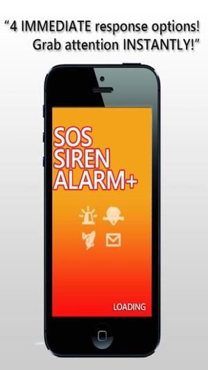 SOS-Sirene Notruf Screenshot