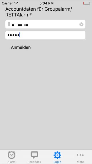 Alarmbox Zentrale Screenshot