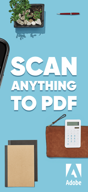 ‎Adobe Scan: PDF Mobile Scanner Screenshot
