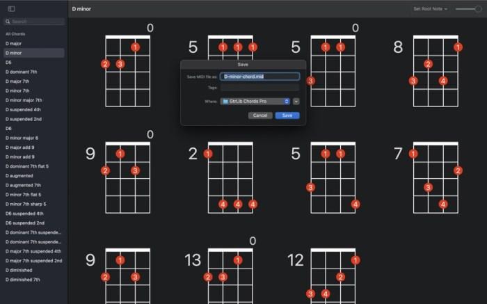 UkeLib Chords Pro Screenshot 04 13at2wn