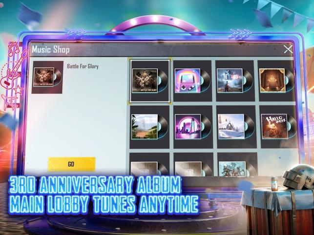 PUBG MOBILE 3RD ANNIVERSARY Screenshot