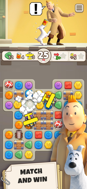 ‎Tintin Match Screenshot