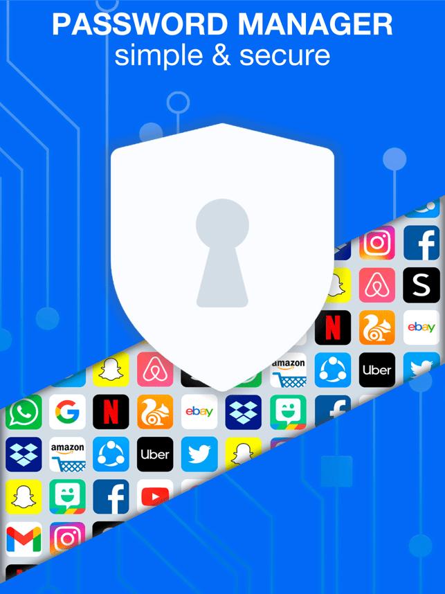 Password Manager & Wallet App Screenshot