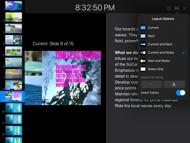 ‎Keynote Screenshot