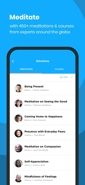 ‎The Mindfulness App Screenshot