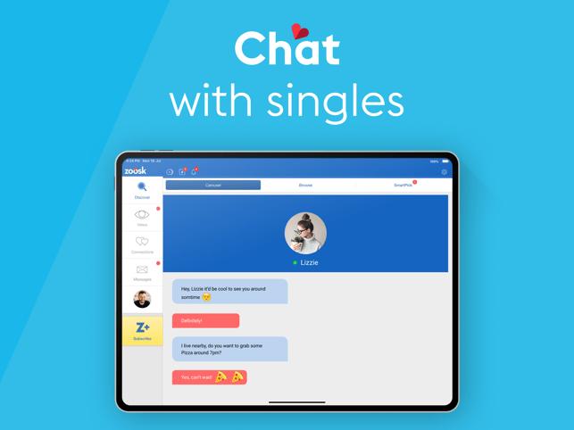 Zoosk Local Dating App Screenshot