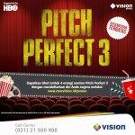 """Cuma daftar yuk di http://indovision.tv bisa dapetin tiket nonton gratis film terbaru HBO """"Pitch Perfect 3"""" lho!"""