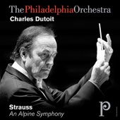 The Philadelphia Orchestra & Charles Dutoit - Strauss: An Alpine Symphony  artwork
