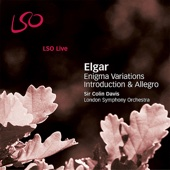 London Symphony Orchestra & Sir Colin Davis - Elgar: Enigma Variations, Introduction & Allegro  artwork