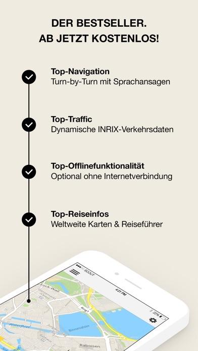 GPS Navigation, Maps & Traffic - Scout Screenshot