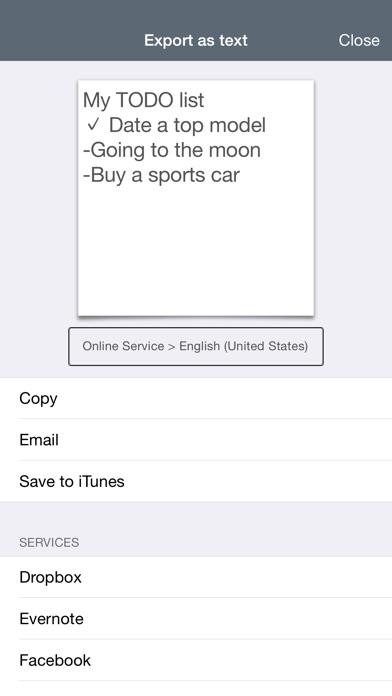 MyScript Memo Screenshot