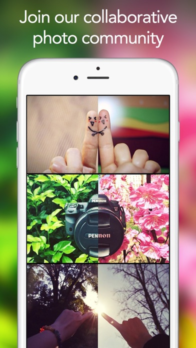 WeSnap - Split photos with friends Screenshot
