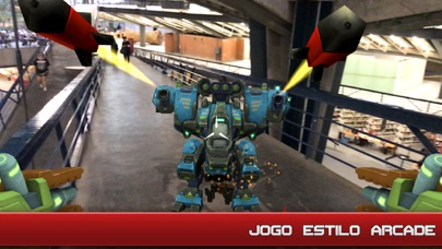 Screenshot do app Army of Robots