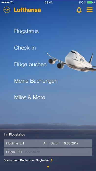 Lufthansa Screenshot