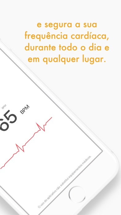 Screenshot do app Heart Care