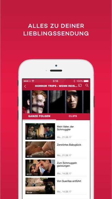 kabel eins Doku - TV Mediathek Screenshot