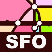 San Francisco Transport Map - Metro Map