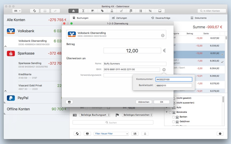 Banking 4X Screenshot