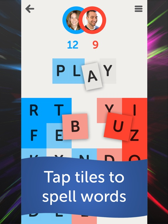 Letterpress – Word Game Screenshot