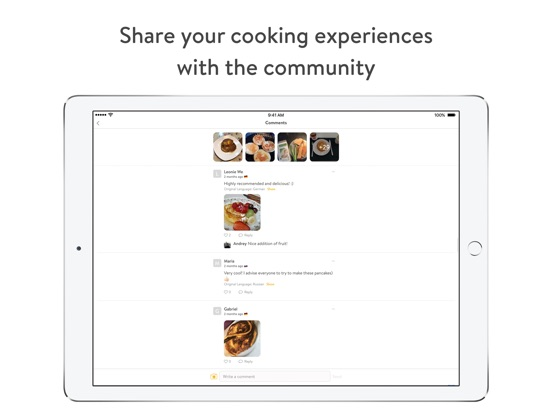 Kitchen Stories - recipes, baking, healthy cooking Screenshot