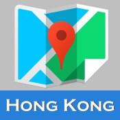 Hong Kong offline map and gps city 2go by Beetle Maps, china hongkong street travel guide walks, airport transport underground Hong Kong metro MTR tube subway lonely planet Hong Kong trip advisor