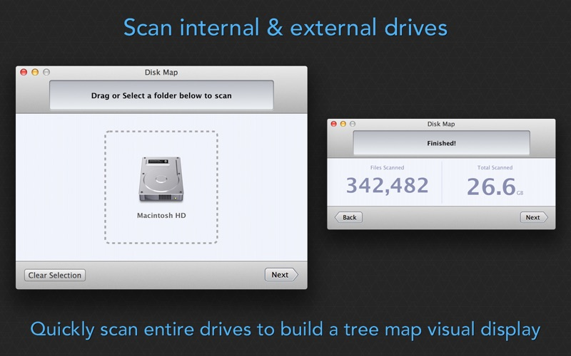 Disk Map - Visualize Hard Drive Usage & Free Space Screenshot