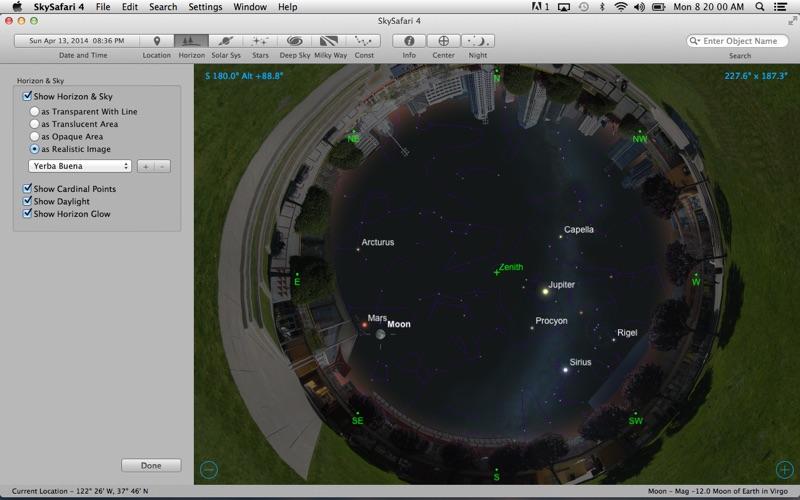 SkySafari 4 Screenshot
