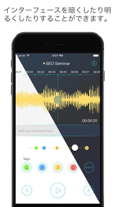 RecApp  - 最も高度なボイスレコーダー Screenshot