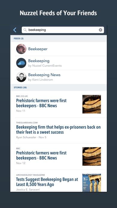 Nuzzel: News for Professionals Screenshot