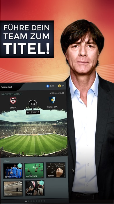 Goal One - DFB Fußball Manager Screenshot
