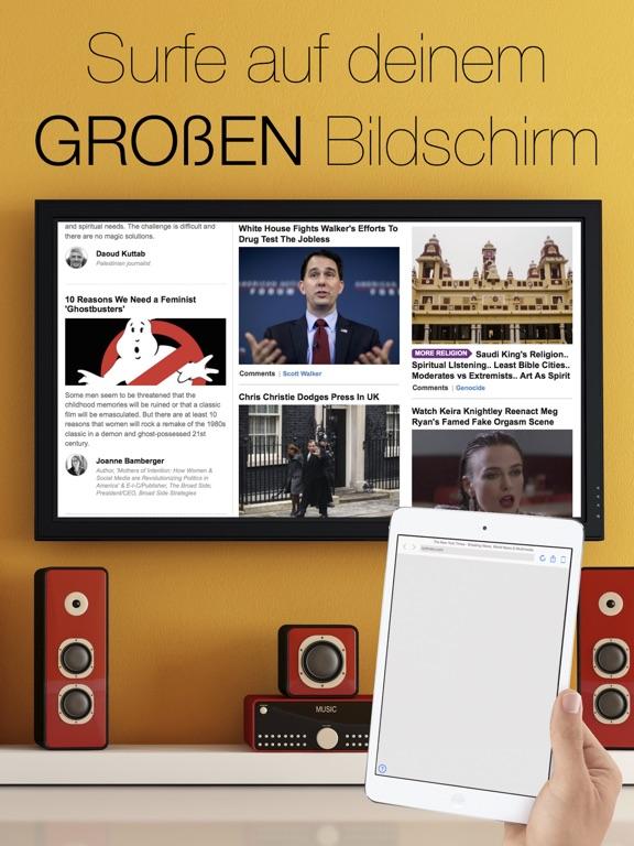 Web-Browser für Apple TV Screenshot
