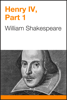 William Shakespeare - Henry IV, Part 1  artwork