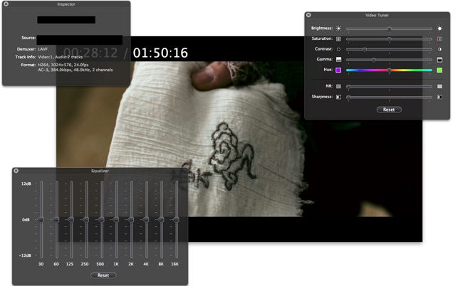MPlayerX Screenshot