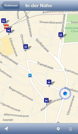 Stationen - ÖV der Schweiz Screenshot