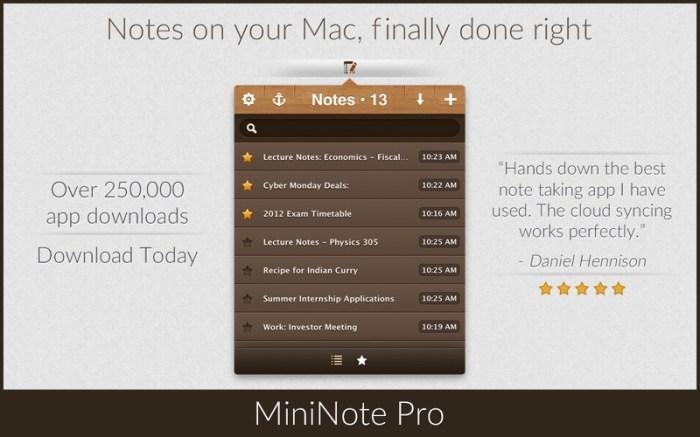 MiniNote Pro Screenshot 1 16seosyn