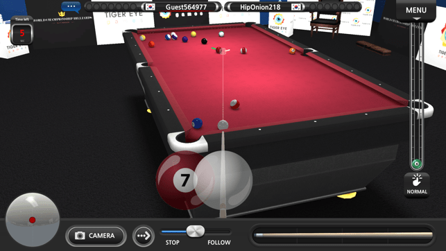 World Championship Billiards Screenshot