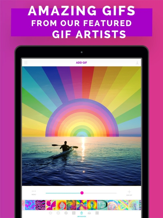 GIF X - Best GIF Video Maker Screenshot