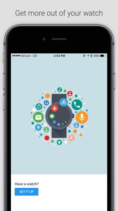 Android Wear Screenshot