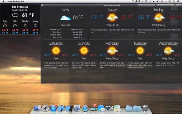 Living Weather & Wallpapers HD Screenshot 05 cf188mn